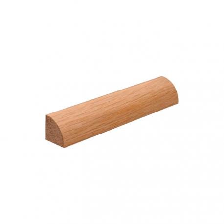 Viertelkreisformstücksatz für eine Seite Falzlose Tür